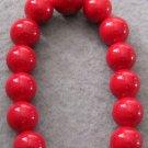 12mm Jade Beads Tibet Buddhist Prayer Mala Bracelet  T2004