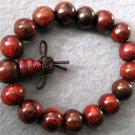 12mm Rosewood Beads Tibet Buddhist Prayer Mala Bracelet  T2006