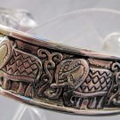 Alloy Metal Elephant Bangle Bracelet  T2112