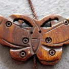 Ox Bone Carved Butterfly Pendant 33mm*15mm  T2174