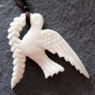 Natural Sea Shell Bird Pendant 25mm*18mm  T2178