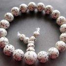 10mm Jade Beads Tibet Buddhist Prayer Mala Bracelet  T2329