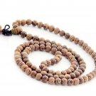 6mm 108 Ji-Chi-Mu Wood Beads Tibet Buddhist Prayer Mala Necklace  ZZ174