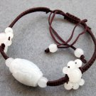 Natural Jade Jadeite Bead Beads Bracelet  T2424