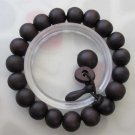 11mm Wood Beads Tibet Buddhist Prayer Mala Bracelet Wrist  T2476
