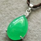 Malay Jade Alloy Metal Dripping Shape Pendant 20mm*13mm  T2534