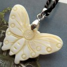 Natural Sea Shell Butterfly Pendant 35mm*27mm  T2543