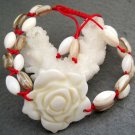 Sea Shell Flower Bead Beads Bracelet  T2552