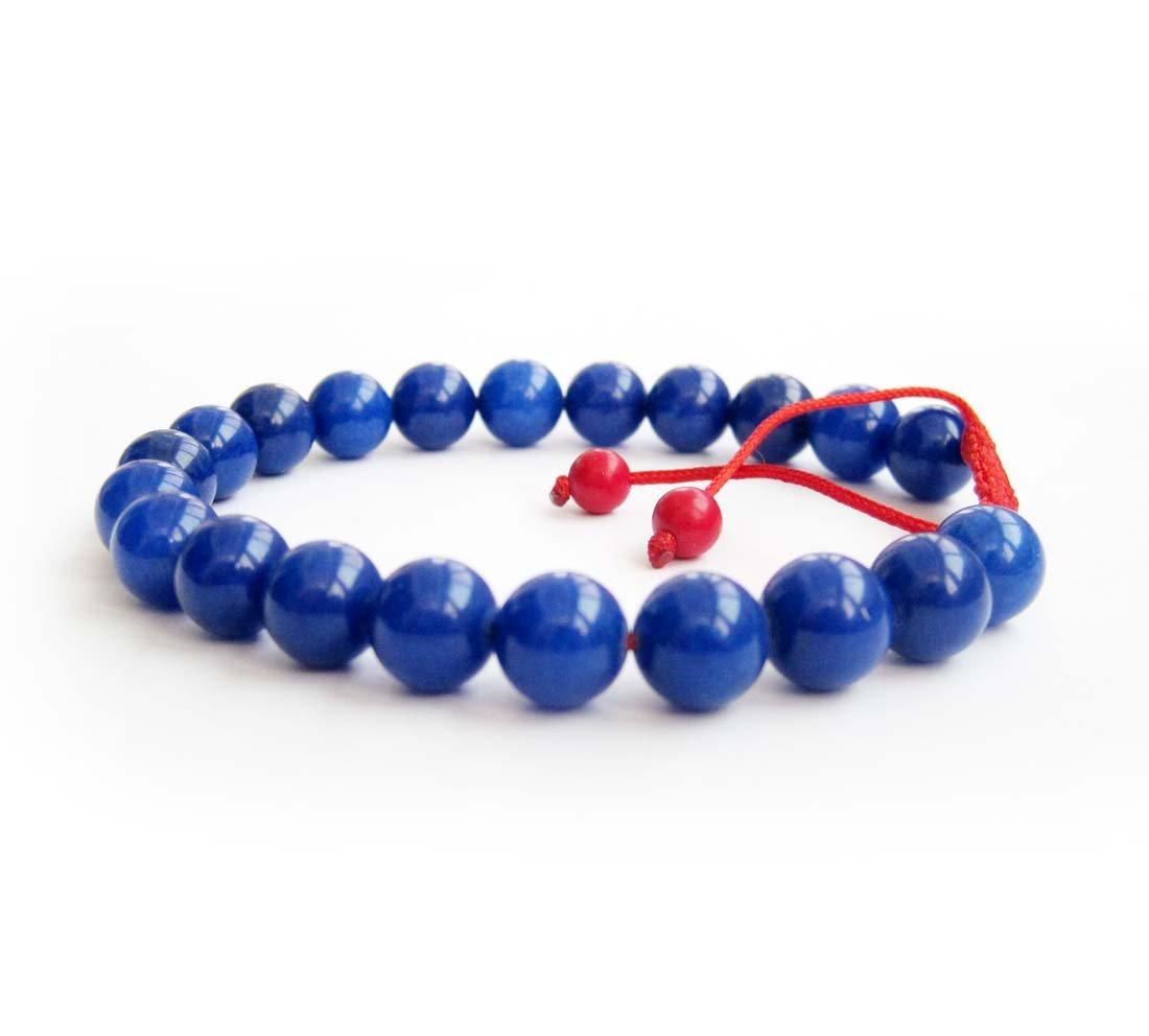 8mm Lapis Stone Beads Bracelet  T2850