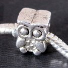 20Pieces Alloy Metal Owl Loose Beads DIY Jewelry Finding 12mm*4mm  ja0075