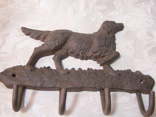 Dog Pointer Key Rack/Hook