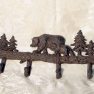Cast Iron Bear Coat/Hat Rack