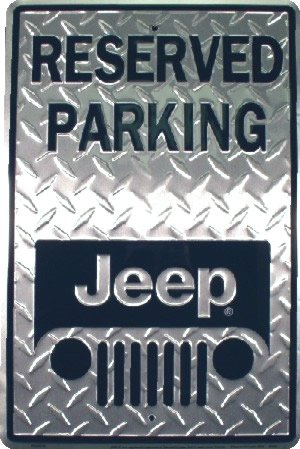 Reserved Parking JEEP