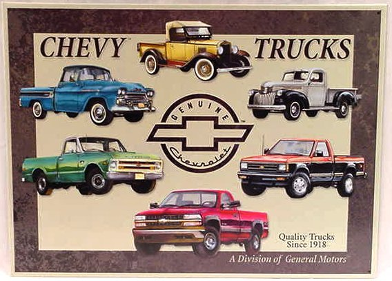 Chevy Truck Tribute