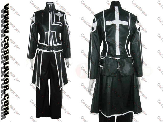 D.Gray Man Allen Walker Cosplay Costume Type A