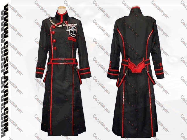 D.Gray-Man 3rd Yuu Kanda cosplay Costume