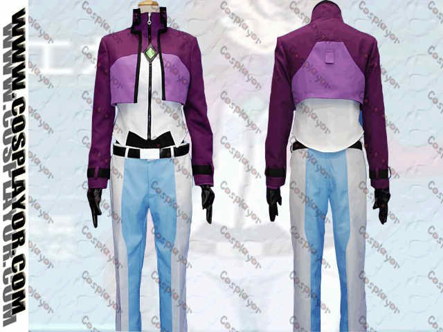 Gundam OO Sumeragi Lee Noriega Cosplay costume