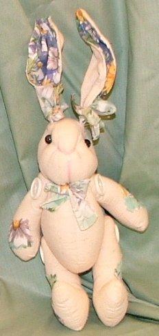 """Muslin Bunny rabbit 12"""""""