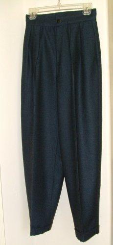 Blue and black Ports International Wool Slacks 6