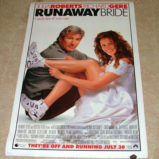 RUNAWAY BRIDE Original Movie Theater Poster