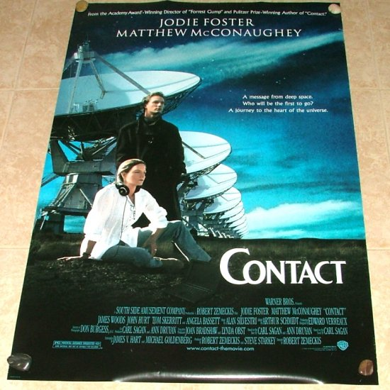 CONTACT Original Movie Theater Poster