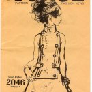 Vogue Pattern Fashion News December 1968 Jean Patou