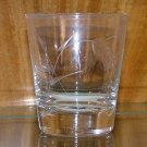 Vintage Sasaki Wheat Crystal Old Fashioned Tumbler Glass
