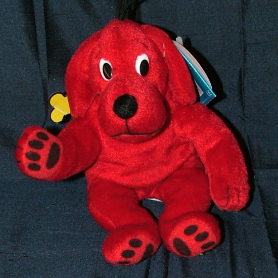 Scholastic SideKicks Clifford Beanbag Plush Toy, Stuffed Animal