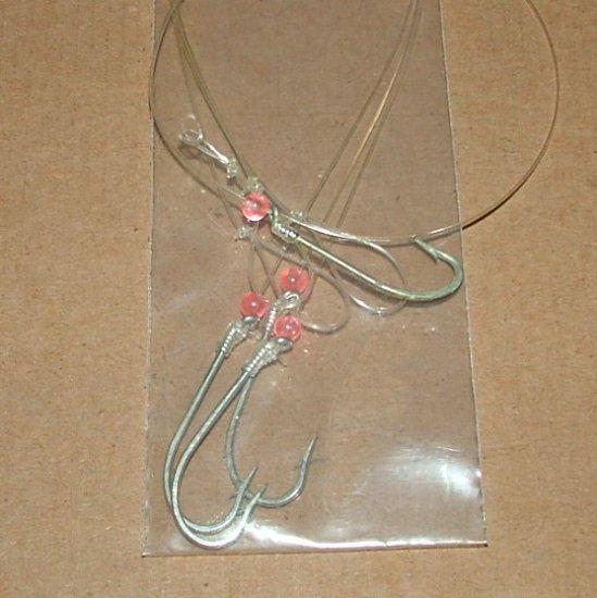 "Classic �Hook & Line� 12"" snelled hook -3"