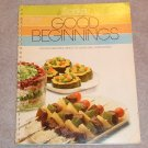 Sanka Good Beginnings Cookbook 1983 Advertising