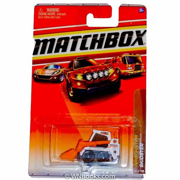 2010 Matchbox Skidster, Construction 39 White