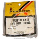 Vintage Penguin Striped Bass Live Bait Leader PBL 3/0 - open