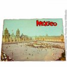 Vintage Mexico 1960's era Travel brochure