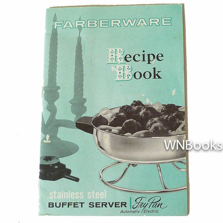 Farberware Recipe Book, Farberware , P-15-083