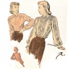 Duart 2310 Blouse - unused Vintage Pattern Featured in Ladies' Home Journal
