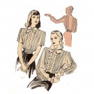 Duart 2315 Blouse - uncut Pattern Featured in Ladies' Home Journal Vintage 1940