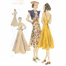 Vogue Pattern 8072 One-piece frock and Bolero -Vintage 1950's