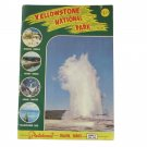 Yellowstone National Park, Plastichrome Travel Series C, Vol. 331 Vintage 1960
