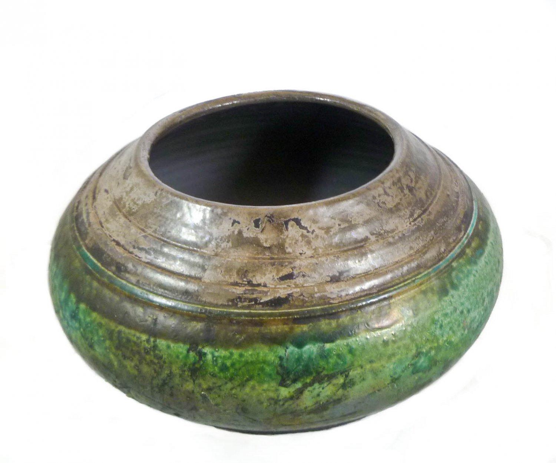 Raku Vase by Lew Ayers