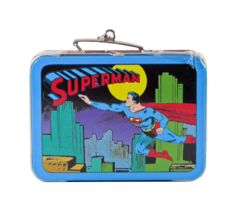 Hallmark Keepsake Ornament, Superman Tin Lunchbox, Dated 1998, QX6423