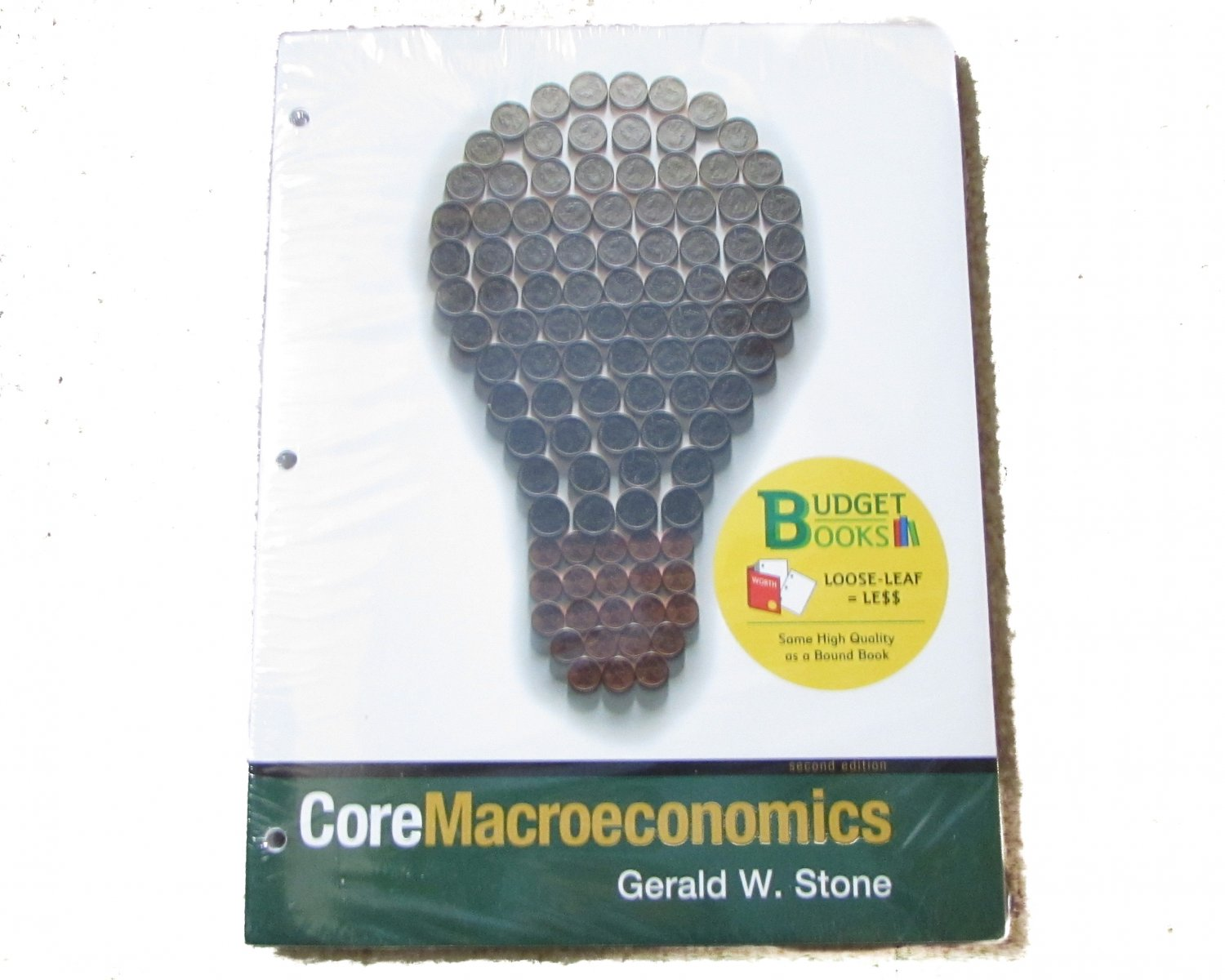 Core Macroeconomics (Loose Leaf) & CourseTutor by Gerald Stone
