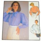 Style Pattern 1232 Misses Dolman Sleeved Blouse 1980's