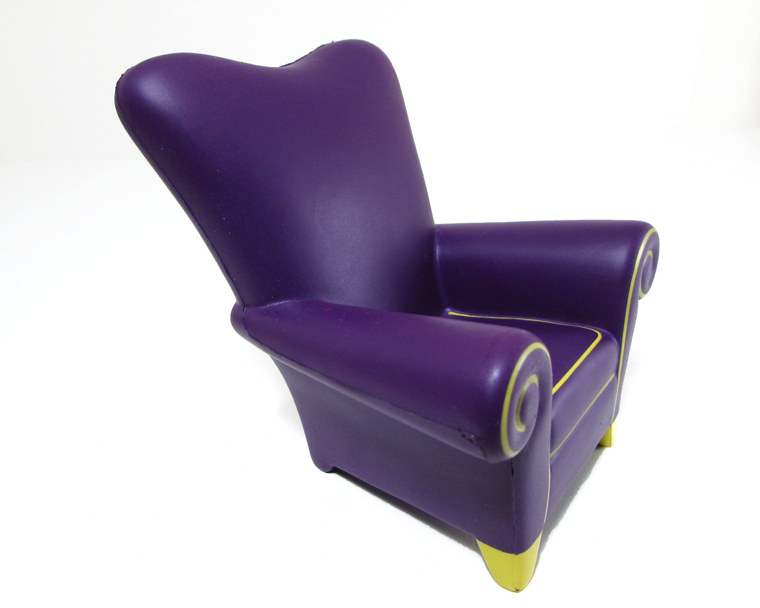 Yahoo! Big Idea Purple Chair Cell Phone Holder