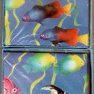 Fish Coral Reef Note Cards Stationery Vintage 1990 - Pratt & Austin Co