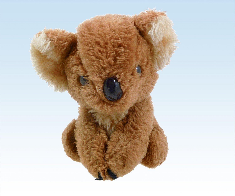 "Koala Bear by R. Dakin 6.5"" Ground Nutshells Vintage Circa 1978, Stuffed Plush Animal"