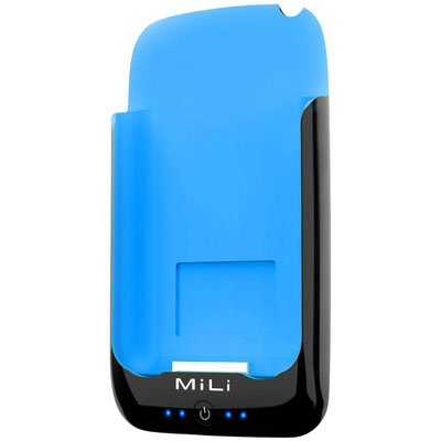 MiLi Power Pack for iPhone 2G/3G/3GS & iPod Touch (Black/Blue) + Free screen protector & shipping