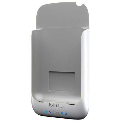 MiLi Power Pack for iPhone 2G/3G/3GS & iPod Touch (White/Gray) + Free screen protector & shipping