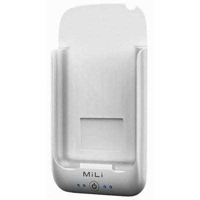 MiLi Power Pack for iPhone 2G/3G/3GS & iPod Touch (White/White) + Free screen protector & shipping