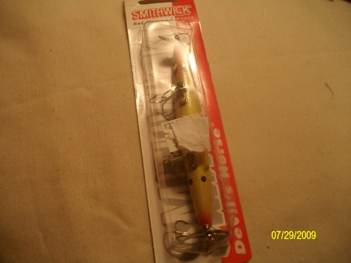 "SMITHWICK DEVIL'S HORSE 4 1/2"" TOPWATER/SURFACE LURE"