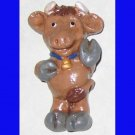 Brown Cow Magnet or Ornament